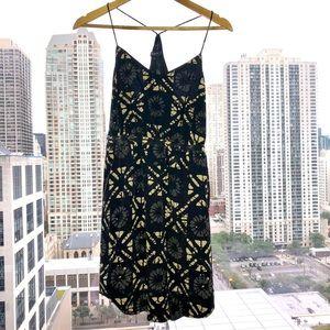 Madewell 'Starview' Batik Grid Silk Cami Minidress